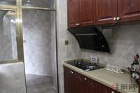 金色维也纳样板间图|116�O精装样板房之厨房及生活阳台