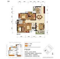 奥园永和府2栋1-03  号房4室2厅2卫125.00�O