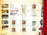 四方新桂园A2户型5室2厅3卫207.00�O
