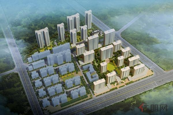未来城俯瞰效果图3