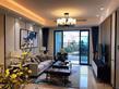 天健和府107㎡三房樣板間客廳