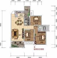 03户型  2+1房2厅2卫