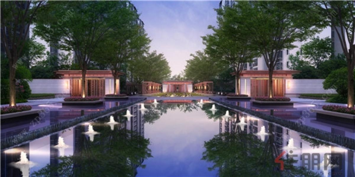 柳州观山福邸-水景