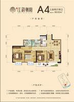 宋都・江韵朝阳A43室2厅2卫99.83�O