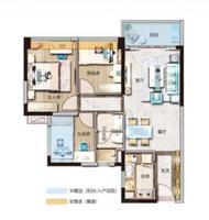 3室2厅1厨1卫
