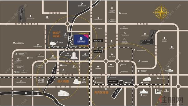 区位交通图
