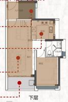 4室2厅1厨3卫  复式_