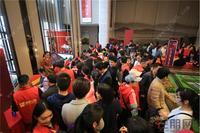 绿地新里璞悦公馆活动图片|二次开盘现场