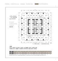 地王国际财富中心写字楼10-22层0室0厅0卫0.00�O