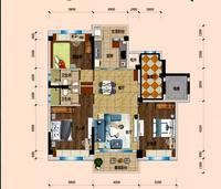3房2厅两卫
