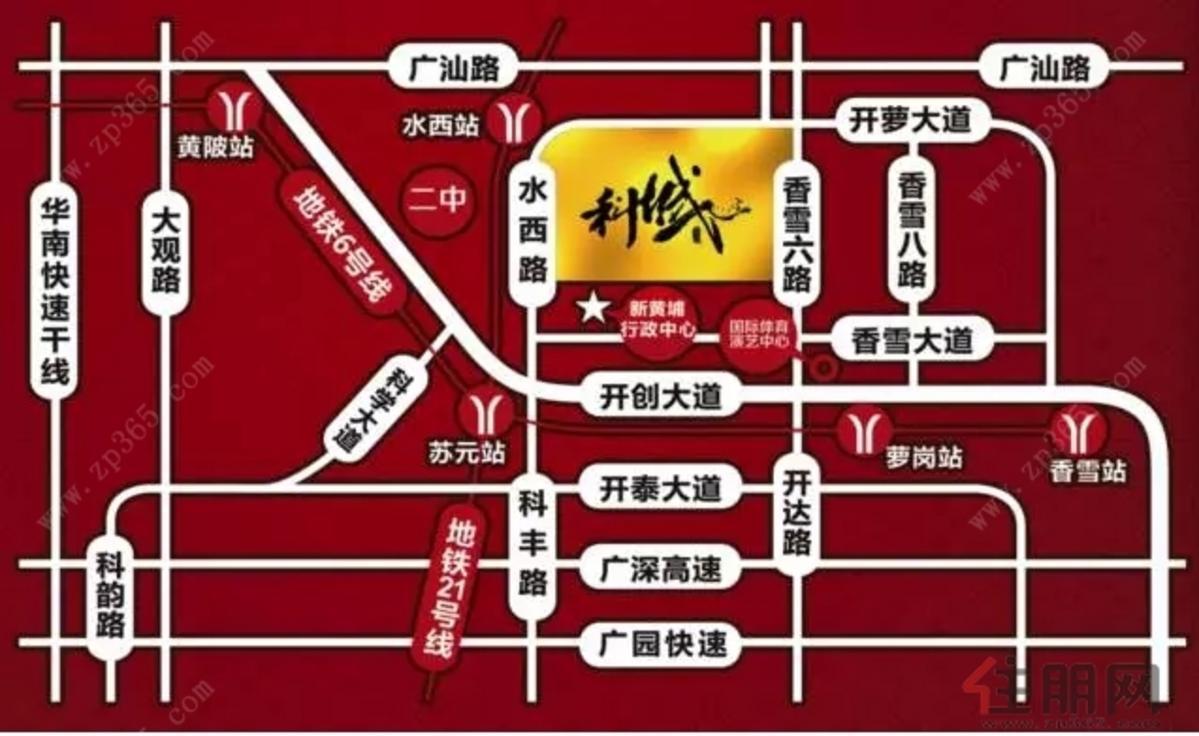 科城山庄峻森园 交通图