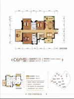 C6户型 四房两厅二卫