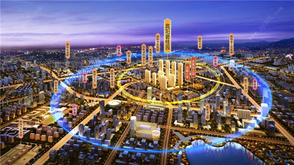 宾阳碧桂园3D区位图