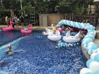 荣和・邕江华府活动图片 儿童泳池戏水场景图