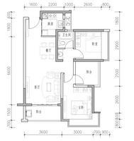 3室两厅1卫82㎡