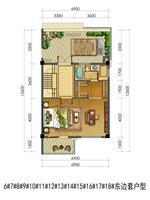 联排别墅6#-18#东边套户型3层