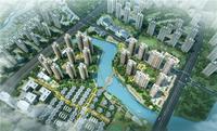 南宁绿地城效果图|鸟瞰图