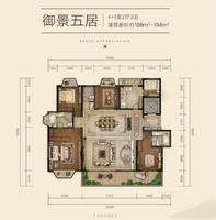 五居户型图