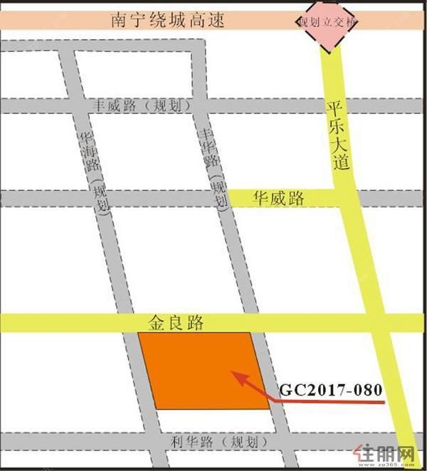 地块位置信息图
