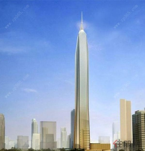 平安国际金融中心大厦 效果图