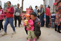 御江帝景活动图片 御江帝景庆元旦圣诞欢乐套鸡送爆米花活动 (8)