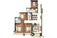 6、9#楼户型(建面111㎡的4房)