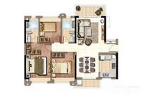 10、11#楼户型(建面103㎡的3房)