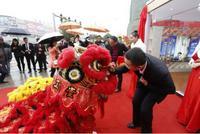 碧桂园・新城之光活动图片|领导给狮子点睛图
