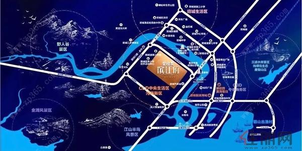 碧桂园·滨江府 交通图