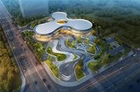 绿地东盟国际城效果图|营销中心俯瞰效果图