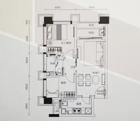2房2厅1厨1卫