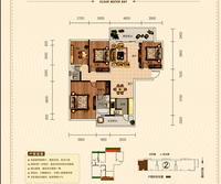 正元清水湾B户型4室2厅2卫160.53�O