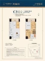 C3户型 3房2厅2卫