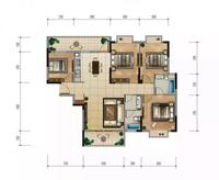 建筑面积:135.36-135.69㎡