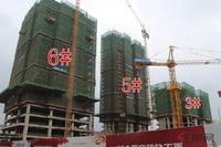 万港城实景图|2018.4.27工程进度