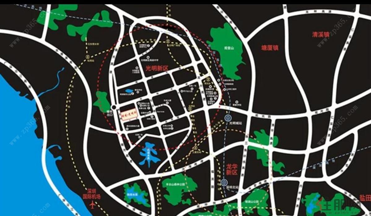 环境规划图