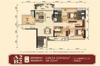 3+1房两厅两卫双阳台