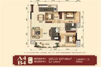 万锦名门三房两厅两卫双阳台3室2厅2卫0.00�O