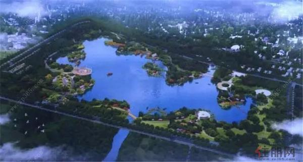 定罗湖滨水公园