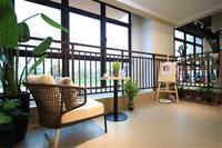 绿地新里璞悦公馆样板间图|阳台