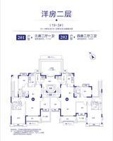 19-3洋房二层户型图