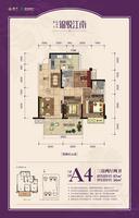 1#、3#楼A4户型