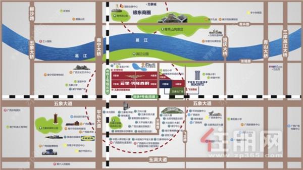 云星·時代廣場|交通圖|區位圖