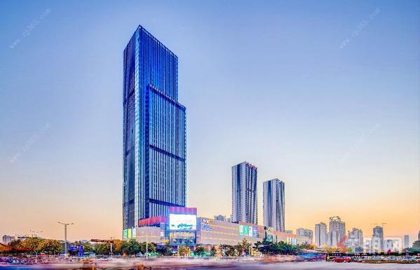 柳州华润大厦实景图