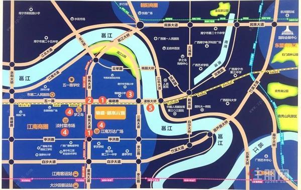 轨道御水元筑区位图