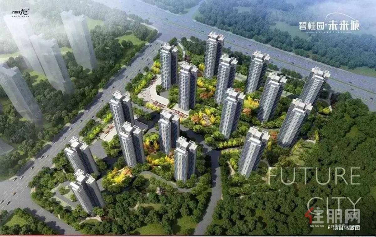 碧桂园·未来城效果图