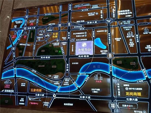 唐樾青山区位图