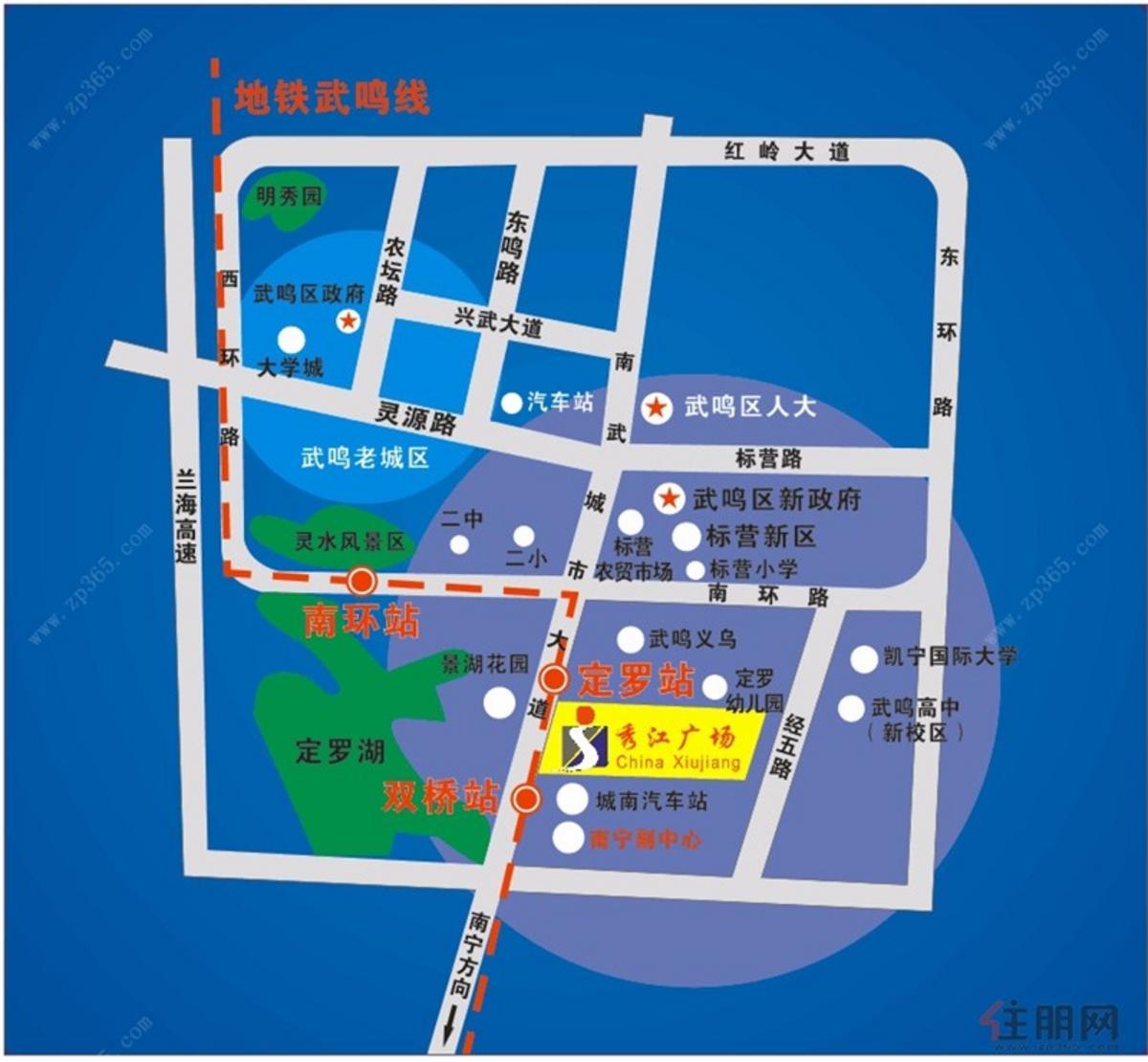 交通區位圖