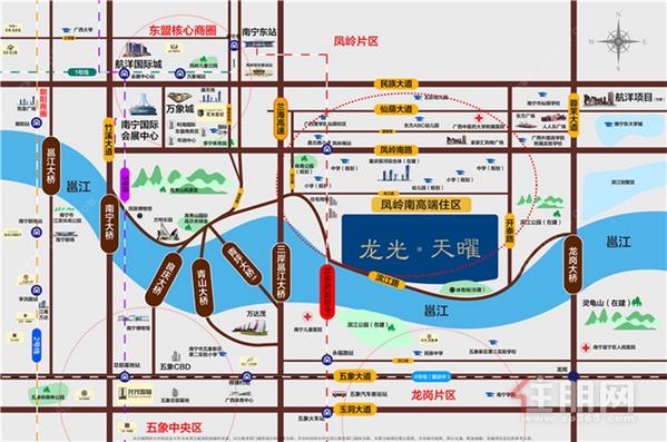 龍光天曜區位圖