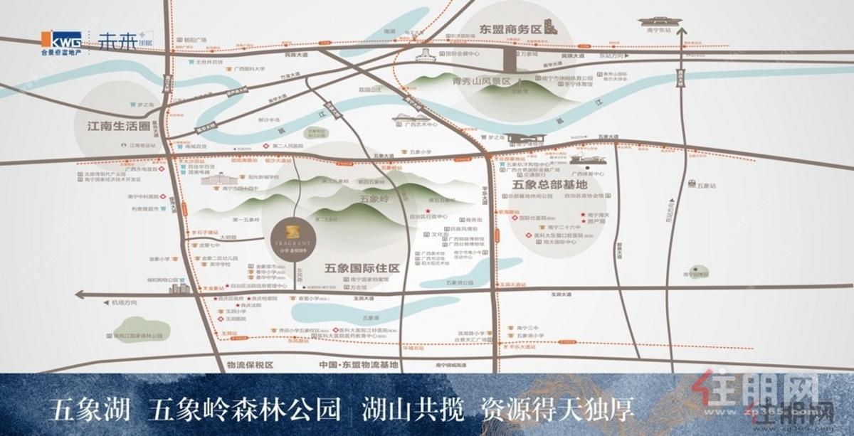 合景·香悦四季区位图